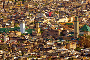 Medina of city Fes, Morocco