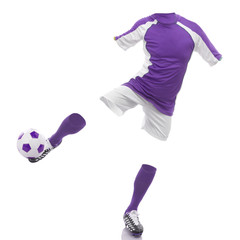 invisible soccer player
