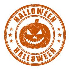 Vector halloween stamp
