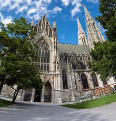 Vienna, Austria - famous Votivkirche ,Votive Church
