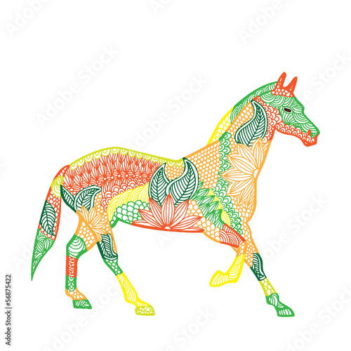 Horse illustration- Chinese zodiac