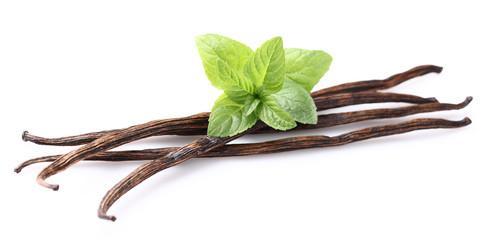 Vanilla with mint