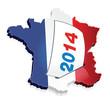2014, es élections municipales