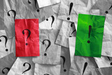 Frage und Antwort Konzept
