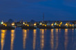 Thames Barrier at night - 56879278