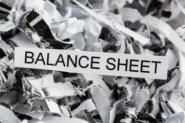 scraps balance sheet