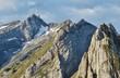 Alpsteingipfel mit Säntis