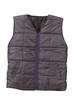 Gray working winter vest.