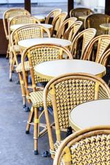 Sidewalk café in Paris