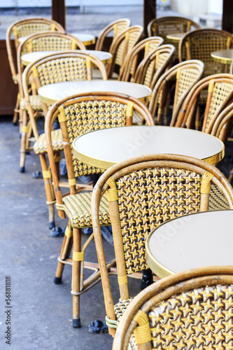 Sidewalk café in Paris
