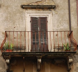 Door With Balcony in Tuscany