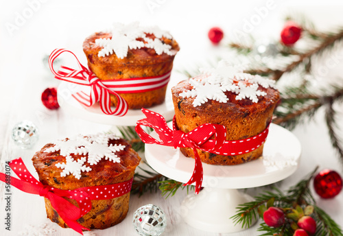 Christmas fruit cakes