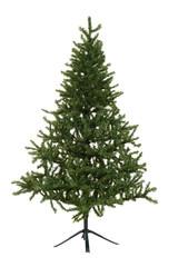 isolated fake christmas tree
