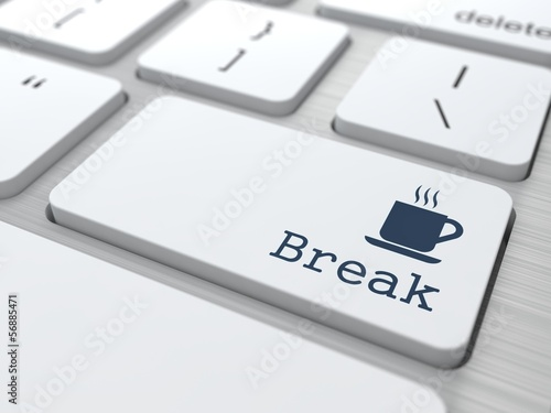 Keyboard with Break Button.