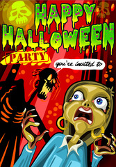 Poster Invite for Halloween Party
