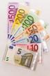 Eurobanknotenfächer