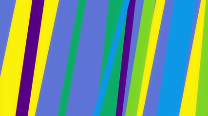 Color Stripes 1 - Moving Colorful Bars Video Background Loop