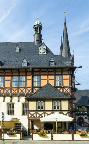 town hall Wernigerode, Germanl