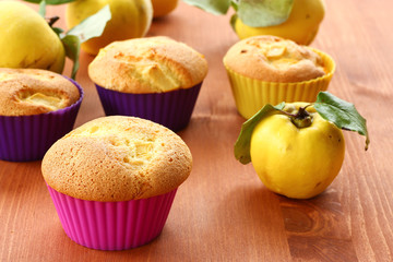 cake with quince