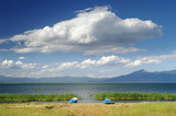 Cloudscape On Prespa Lake, Republic Of Macedonia poster