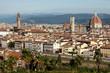 Florence, Basilica Santa Maria Del Fiore And Signoria Square