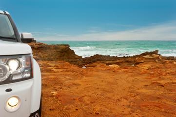 rocky edge of Australia