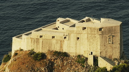 Dubrovnik old town walls - fortress St. Lawrence