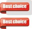 bouton bordure best choice
