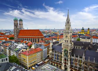 Munich, Germany at Marienplatz