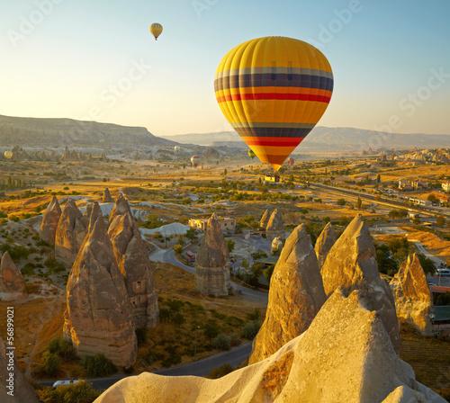 Aluminium Ballon Cappadocia. Turkey