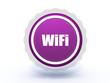 wifi star icon on white background