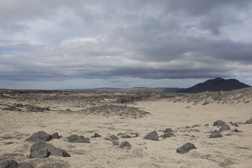 Islanda pomice su pietra lavica