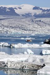 Jökulsárlón laguna dei ghiacci Islanda