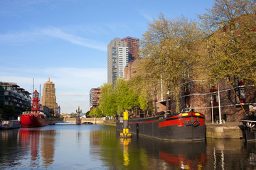 Canal in Rotterdam