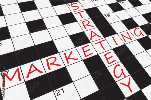 """MARKETING STRATEGY"" CROSSWORD (planning e-mail web customer)"