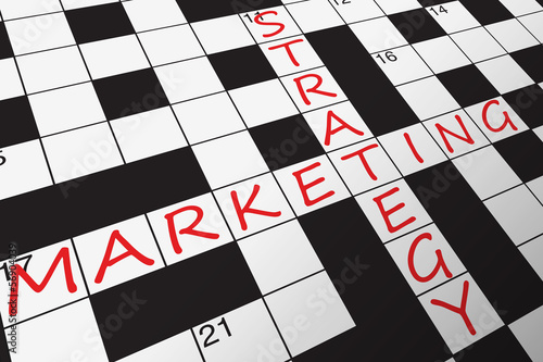 MARKETING STRATEGY Crossword (quality prices customers products)