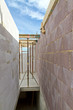 Neubau eines Einfamilienhauses, Treppenabgang
