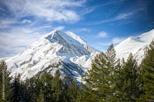 winter mountains