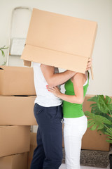 New flat for newly married couple