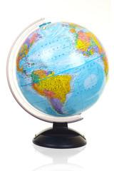 The terrestrial globe