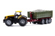 toy tractor with semi-trailer - 56907812