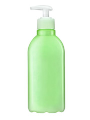 Shampoo bottle with pump