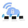 cloud, wolke, blau, online, backup,