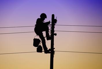 electricien aerien
