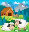 Sheep theme image 2