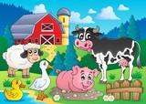 Abenteuer auf einer großen Farm