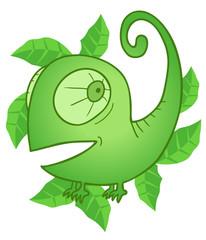 Mint chameleon