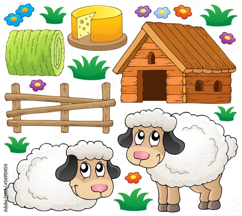 Sheep theme collection 1