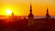 Tallinn, Estonia at Sunset
