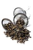Green Gunpowder tea. poster
